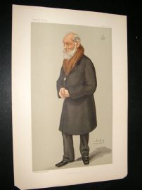 Vanity Fair Print 1897 Lord Kelvin, Explorer